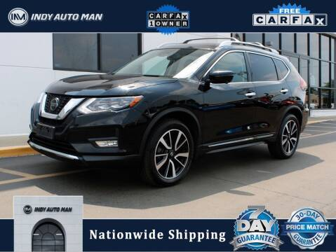 2018 Nissan Rogue for sale at INDY AUTO MAN in Indianapolis IN