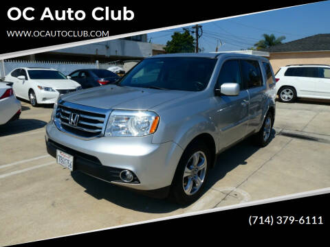 2013 Honda Pilot for sale at OC Auto Club in Midway City CA