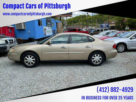 2005 Buick LaCrosse for sale at Compact Cars of Pittsburgh in Pittsburgh PA