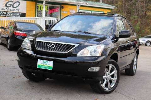2009 Lexus RX 350 for sale at Go Auto Sales in Gainesville GA