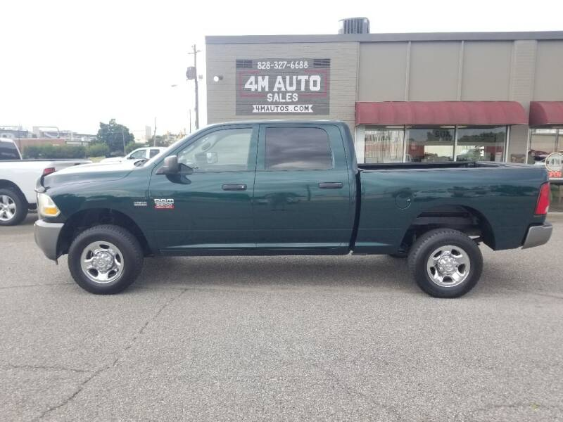 2011 RAM Ram Pickup 2500 for sale at 4M Auto Sales   828-327-6688   4Mautos.com in Hickory NC