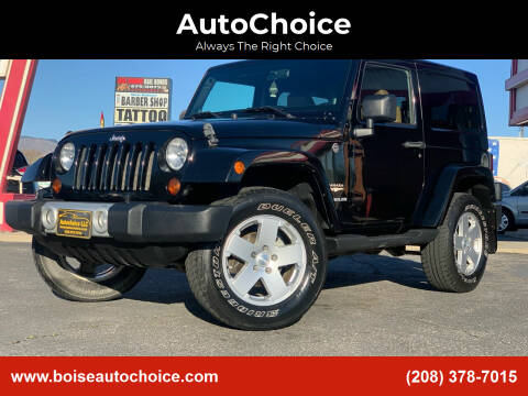 2011 Jeep Wrangler for sale at AutoChoice in Boise ID