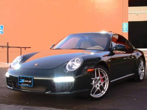 2009 Porsche 911 for sale at Z Carz Inc. in San Carlos CA