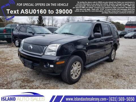 2005 Mercury Mountaineer for sale at Island Auto Sales in E.Patchogue NY
