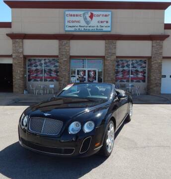 2008 Bentley Continental for sale at Iconic Motors of Oklahoma City, LLC in Oklahoma City OK