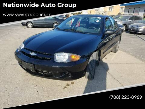 2005 Chevrolet Cavalier for sale at Nationwide Auto Group in Melrose Park IL