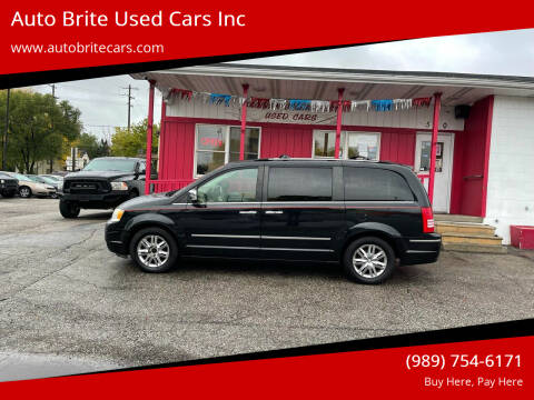 2008 Chrysler Town and Country for sale at Auto Brite Used Cars Inc in Saginaw MI