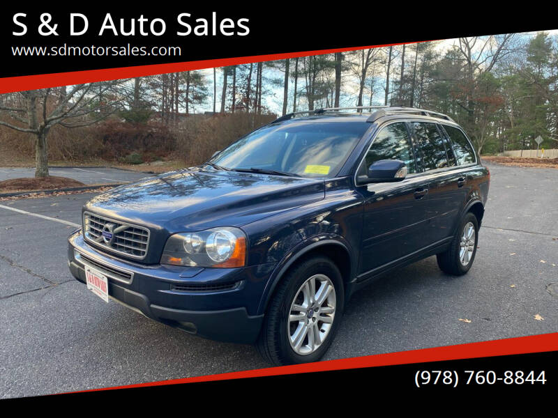 2012 Volvo XC90 for sale at S & D Auto Sales in Maynard MA