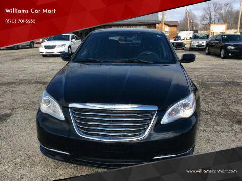 2012 Chrysler 200 for sale at WILLIAMS CAR MART in Gassville AR