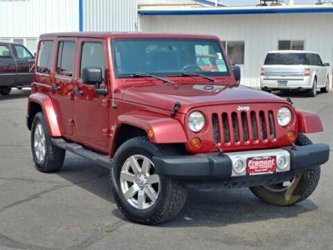 2011 Jeep Wrangler Unlimited for sale at Rocky Mountain Commercial Trucks in Casper WY
