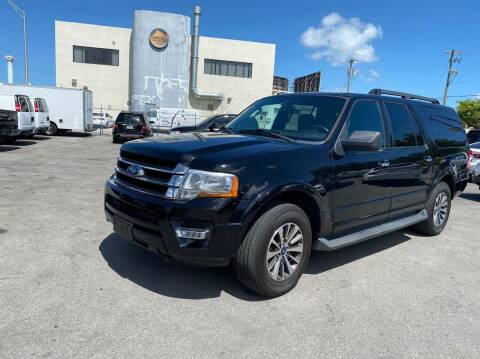 2016 Ford Expedition EL for sale at MANA AUTO SALES in Miami FL