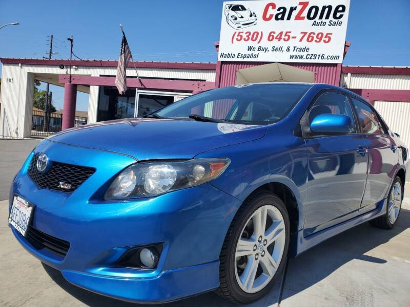 2009 Toyota Corolla for sale at CarZone in Marysville CA
