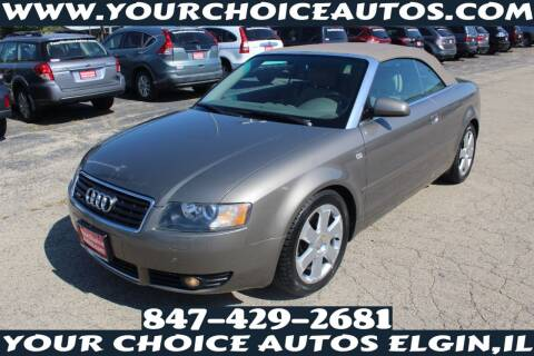 2005 Audi A4 for sale at Your Choice Autos - Elgin in Elgin IL