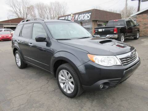 2011 Subaru Forester for sale at Fox River Motors, Inc in Green Bay WI