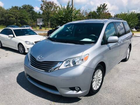 2012 Toyota Sienna for sale at Atlanta Motor Sales in Loganville GA