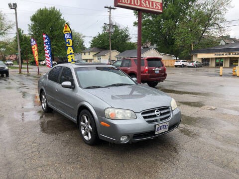 2003 Nissan Maxima for sale at Neals Auto Sales in Louisville KY