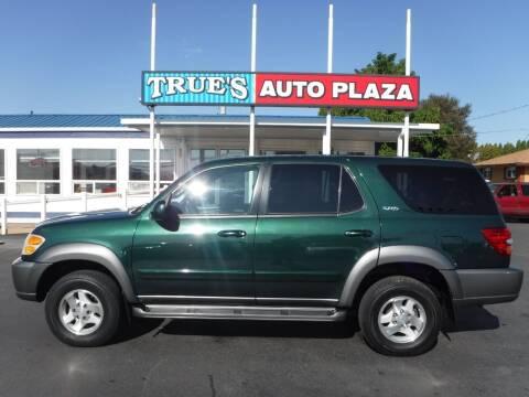 2003 Toyota Sequoia for sale at True's Auto Plaza in Union Gap WA