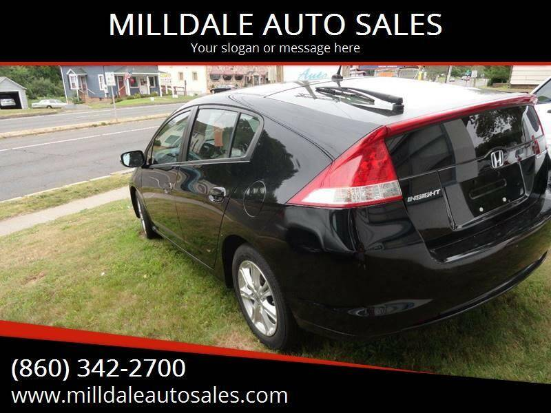 2010 Honda Insight for sale at MILLDALE AUTO SALES in Portland CT