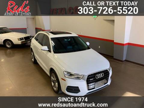2016 Audi Q3 for sale at Red's Auto and Truck in Longmont CO