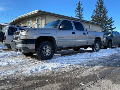 2004 Chevrolet Silverado 2500HD for sale at Canuck Truck in Magrath AB