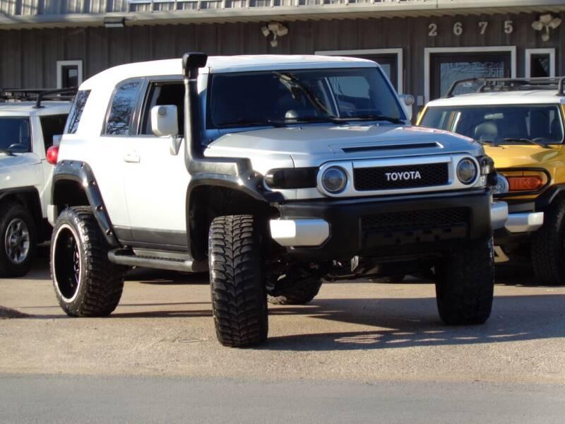 2007 Toyota FJ Cruiser for sale at Auto Starlight in Dallas TX