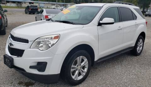 2013 Chevrolet Equinox for sale at COOPER AUTO SALES in Oneida TN