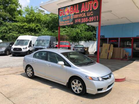 2010 Honda Civic for sale at Global Auto Sales and Service in Nashville TN