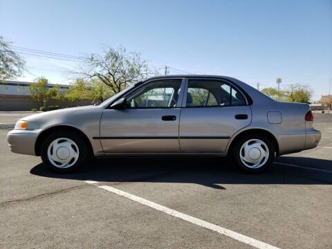 2000 Toyota Corolla for sale at RAFIKI MOTORS in Henderson NV