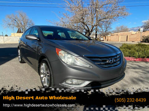 2011 Hyundai Sonata for sale at High Desert Auto Wholesale in Albuquerque NM