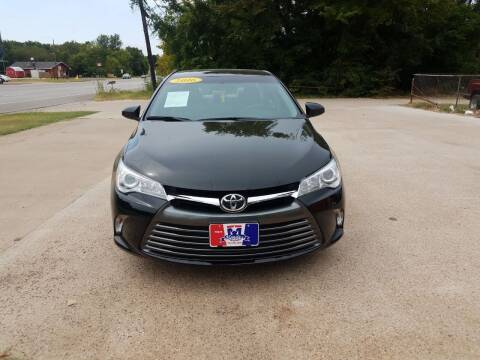 2016 Toyota Camry for sale at MENDEZ AUTO SALES in Tyler TX