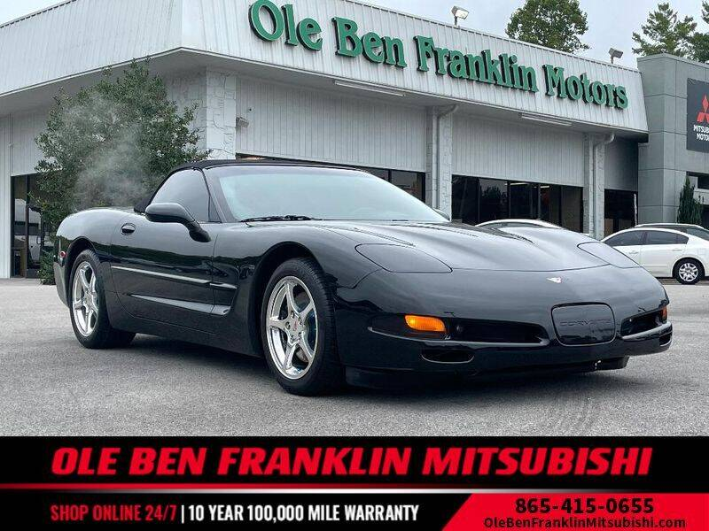 2000 Chevrolet Corvette for sale at Ole Ben Franklin Motors Clinton Highway in Knoxville TN