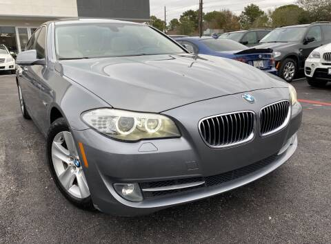 2013 BMW 5 Series for sale at KAYALAR MOTORS in Houston TX