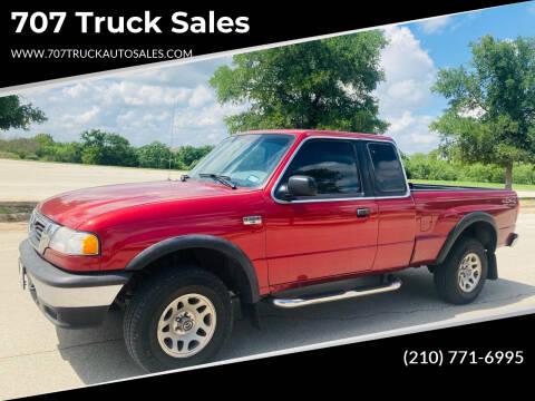 1999 Mazda B-Series Pickup for sale at 707 Truck Sales in San Antonio TX