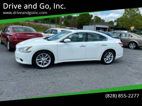 2009 Nissan Maxima for sale at Drive and Go, Inc. in Hickory NC