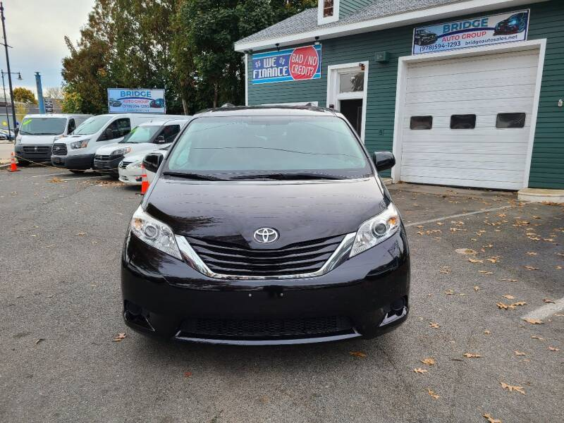 2017 Toyota Sienna for sale at Bridge Auto Group Corp in Salem MA