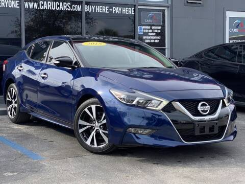 2018 Nissan Maxima for sale at CARUCARS LLC in Miami FL