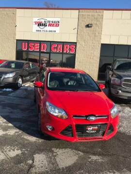 2013 Ford Focus for sale at Big Red Auto Sales in Papillion NE