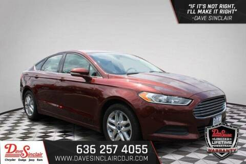 2016 Ford Fusion for sale at Dave Sinclair Chrysler Dodge Jeep Ram in Pacific MO