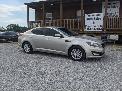 2013 Kia Optima for sale at Vermilion Auto Sales & Finance in Erath LA