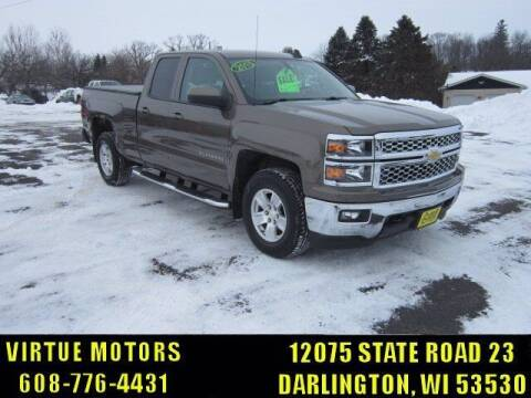 2015 Chevrolet Silverado 1500 for sale at Virtue Motors in Darlington WI