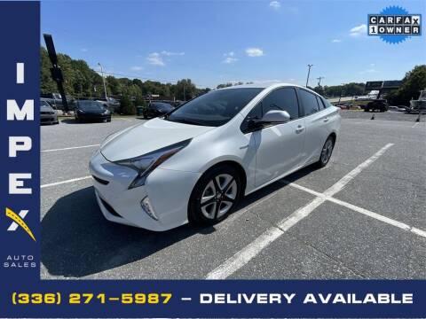 2016 Toyota Prius for sale at Impex Auto Sales in Greensboro NC