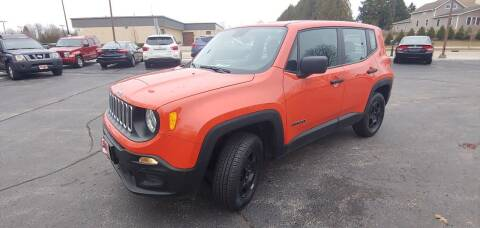 2017 Jeep Renegade for sale at PEKARSKE AUTOMOTIVE INC in Two Rivers WI