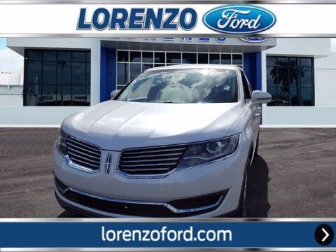 2016 Lincoln MKX for sale at Lorenzo Ford in Homestead FL