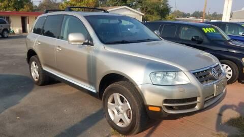 2004 Volkswagen Touareg for sale at Marvelous Motors in Garden City ID