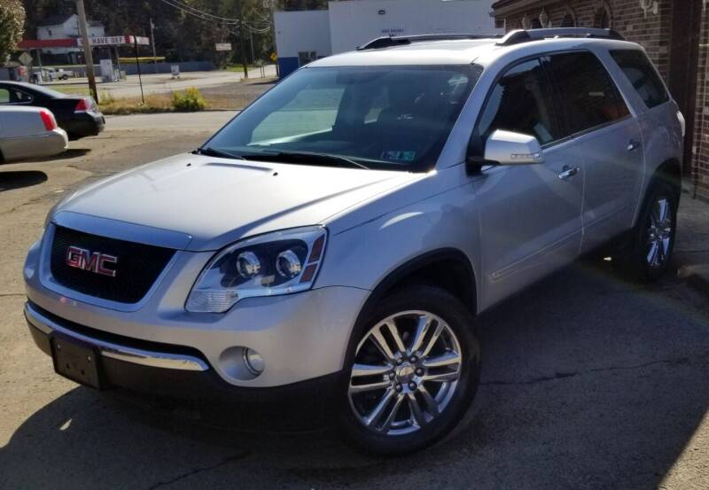 2010 GMC Acadia for sale at SUPERIOR MOTORSPORT INC. in New Castle PA