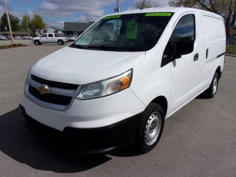 2015 Chevrolet City Express Cargo for sale at Ideal Auto Sales, Inc. in Waukesha WI