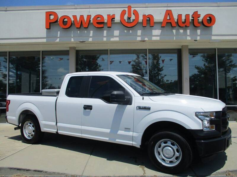 2016 Ford F-150 for sale at Power On Auto LLC in Monroe NC