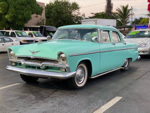 1955 Plymouth Belvedere for sale at KD's Auto Sales in Pompano Beach FL