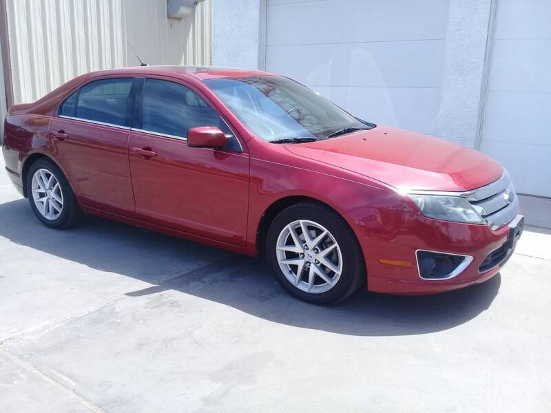 2010 Ford Fusion for sale at Dreamline Motors in Coolidge AZ