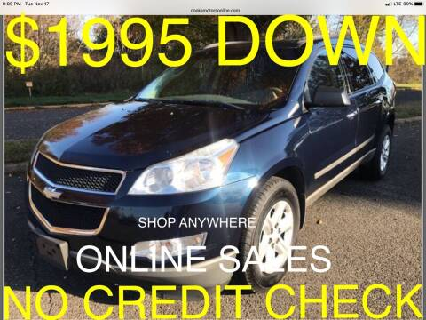 2010 Chevrolet Traverse for sale at Cooks Motors in Westampton NJ